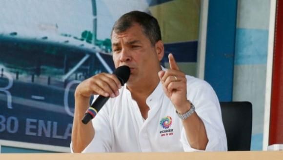 El mandatario ecuatoriano instó a sus seguidores a demostrar que son mayoría | Foto: Cancillería.ec