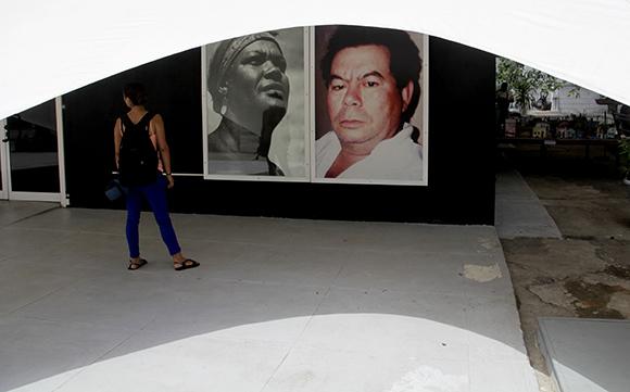 Galería Martha Machado Cuní en el interior del Kcho Estudio. Foto: Ismael Francisco/ Cubadebate