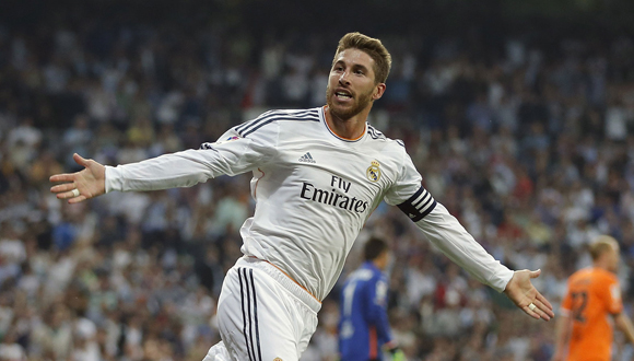 Sergio Ramos. Foto: Getty Images.