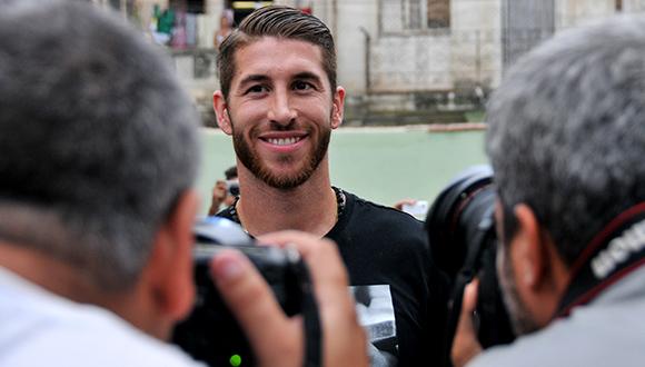 Sergio Ramos en La Habana Vieja. Foto: Ladyrene Pérez/ Cubadebate.