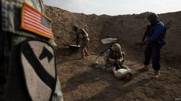 Las tropas estadounidenses en Irak se dedican a entrenar y asesorar a los soldados locales. Foto: AFP.
