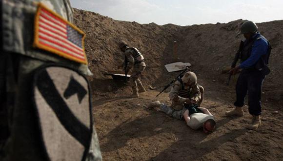 soldados en iraq