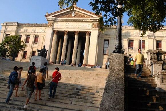 Universidad de la Habana. Foto: agencias.