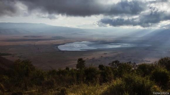 El Ngorongoro –el cráter más grande del mundo– solía ser un pico.