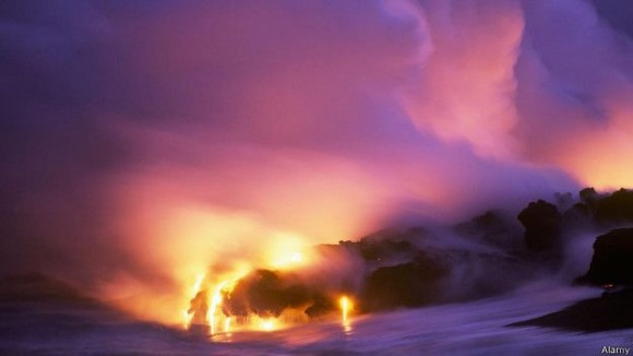 El volcán Kilauea ha estado en erupción continua desde 1983.