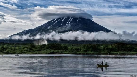 El monte Fuji ha sido fuente de inspiración por siglos y siglos.