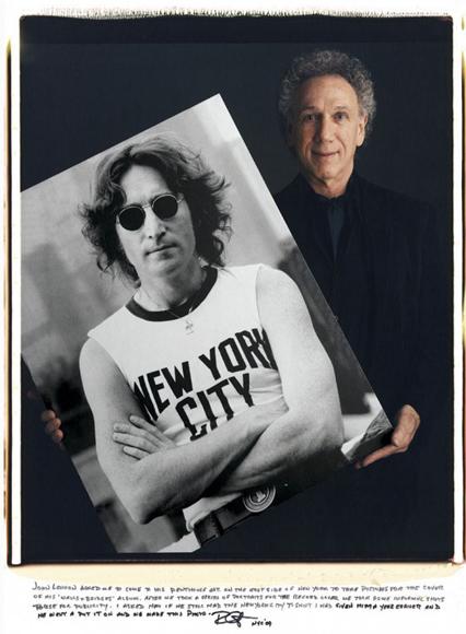 Bob Gruen, John Lennon.