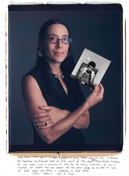Lori Grinker, Mike Tyson (1980).