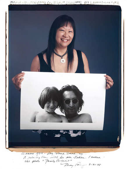 May Pang, John Lennon (1974).