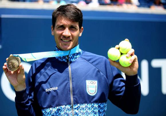 Guido Andreozzi tributó un título y un subtítulo a la delegación de Argentina.
