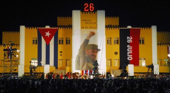 SANTIAGO DE CUBA-RESUME MACHADO VENTURA ACTO CENTRAL POR EL 62 ANIVERSARIO DEL 26 DE JULIO