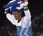 Rafael Alba oro en +80 kg en los Panamericanos, Toronto 2015 vs Carlos Rivas de Venezuela 11 x 4. Foto: Ricardo López Hevia