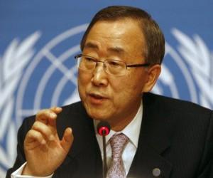 Ban Ki-moon. Foto tomada de noticiassin.com
