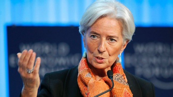 Christine Lagarde. Foto tomada de libered.net