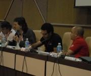 Las palabras de Abel Prieto dieron las conclusiones de la sesión de trabajo. Foto: Yoandry Avila/ Cubaperiodistas