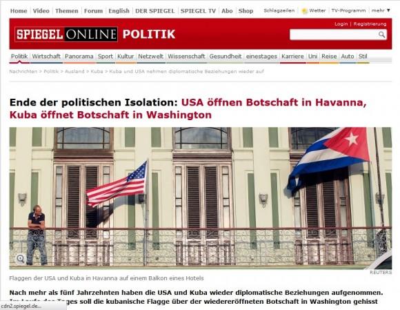 Des Spiegel, 20 de julio de 2015