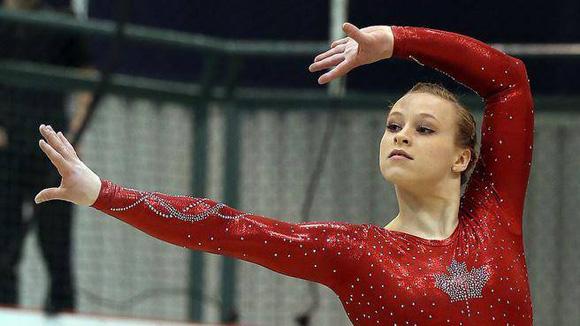 Ellie Black: ganadora de tres títulos en la gimnasia artística.