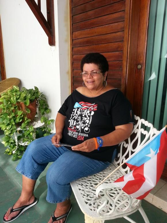 """Milagros Rivera. """"Con nuestra solidaridad, reciprocamos una parte ínfima, de lo que Cuba hace por la humanidad""""."""