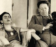 Frida y Diego Rivera. Foto tomada de telva.com
