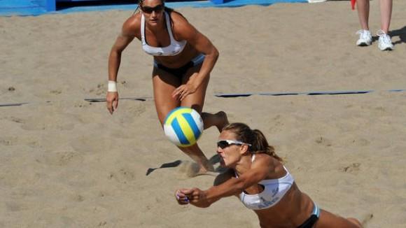 Gallay y Klug ganaron seis de sus siete partidos en Toronto 2015. (Imagen: Prensa Comité Olímpico Argentino)