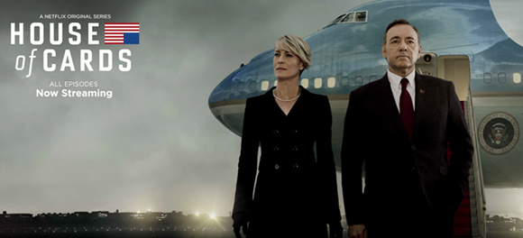 House of Cards se llevó el año pasado los galardones a mejor actuación masculina y femenina en series drama. Foto: Poster