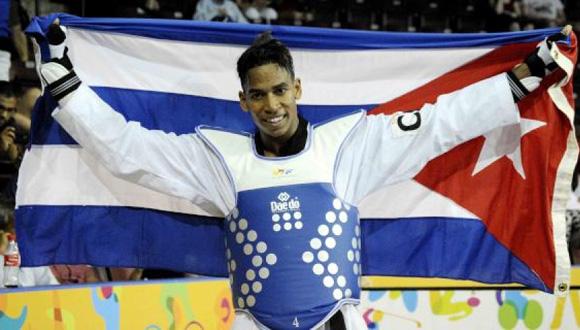 José Cobas ganó el oro en los 80 kilogramos del taekwondo.