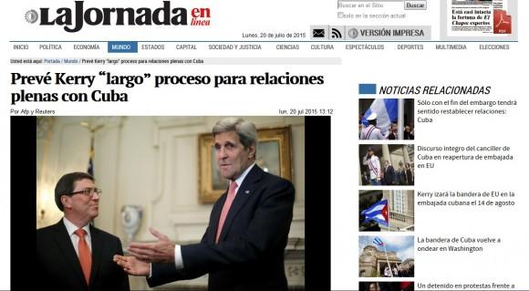 La Jornada, México, 20 de julio de 2015