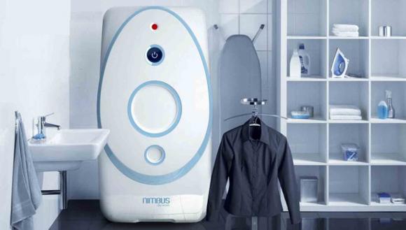 El lavarropa Nimbus utiliza dióxido de carbono. Foto: Tomada de Tele Sur