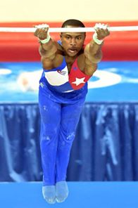 Manrique Larduet, Plata en el All Around de los Juegos Panamericanos de Toronto 2015. Foto: Ricardo López Hevia