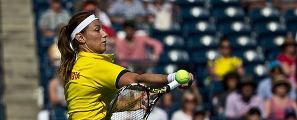 Mariana Duque Mariño se coronó en el tenis de Toronto-2015.