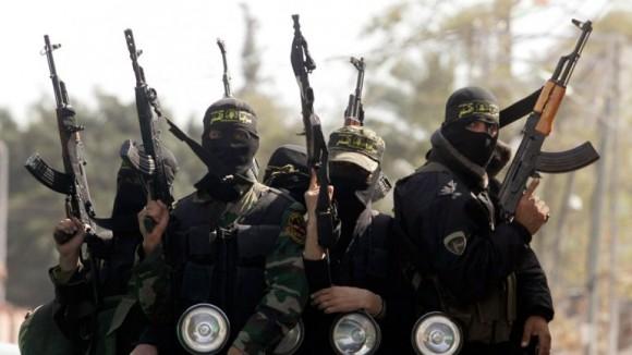 Miembros del Estado Islámico. Foto tomada de guioteca.com