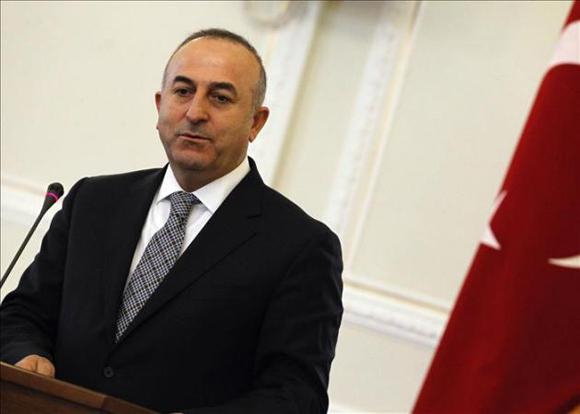 Ministro de Exteriores turco, Mevlut Cavusoglu. Foto: EFE