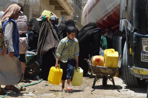 Niños-Yemen