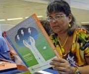 Participante en la presentación del programa de País PMA (Programa Mundial de Alimentos) Cuba 2015-2018, en el Hotel Meliá Cohíba, en La Haban