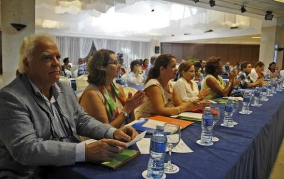 presentación del programa de País PMA (Programa Mundial de Alimentos) Cuba para el período 2015-2018. Foto: AIN.