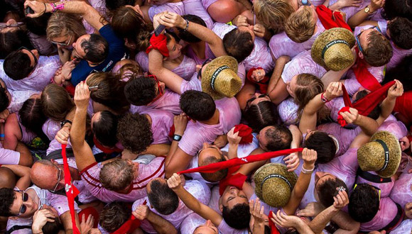 Pamplona, España, a 6 de julio. Foto Andres Kudacki/  AP