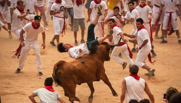 Pamplona, España, a 8 de julio. Foto Álvaro Barrientos/ AP