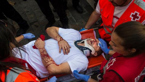 Pamplona, España, a 9 de julio. Foto Álvaro Barrientos/ AP