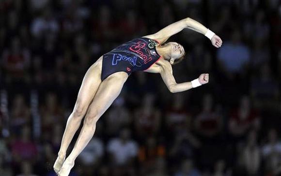 Paola Espinosa ganó en Plataforma 10 metros y Sincronizado Trampolín 3 metros.