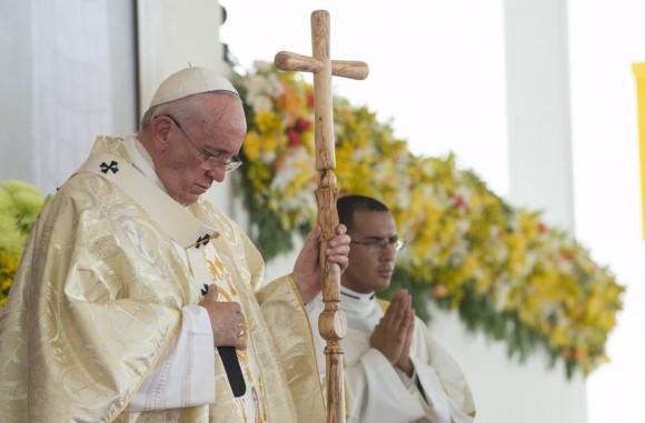 El papa Francisco exhortó hoy a la comprensión mutua entre hermanos. Foto: Reuters.