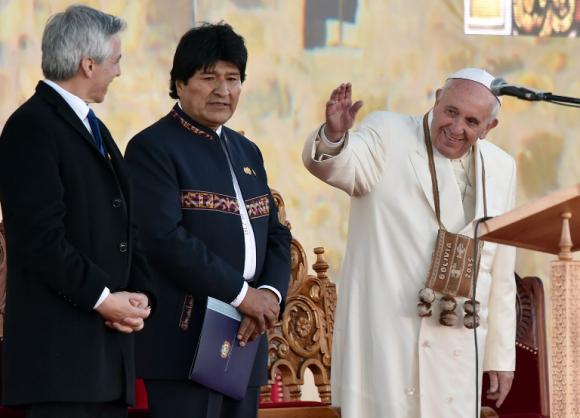 El Papa Francisco insistió en la necesidad del diálogo. Foto tomada de andes.info.ec