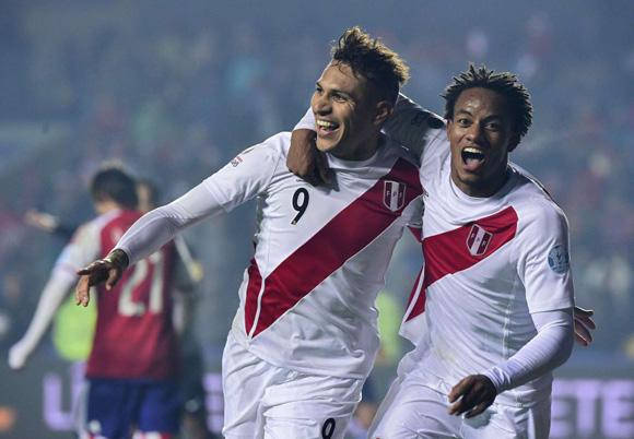 Perú goleadores