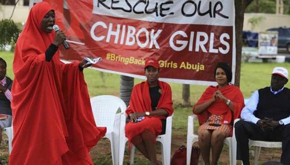Muer pidiendo el regreso de las niñas secuestradas por Boko Haram. Foto tomada de el Clarín