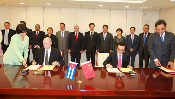 Cuba and China with new bilateral cooperation initiatives