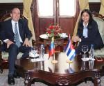 Rogelio Polanco y Delcy Rodríguez