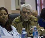 Ramiro Valdés, Comandante de la Revolución, en la Comisión de Atención de los Servicios. Foto: Ismael Francisco/Cubadebate.