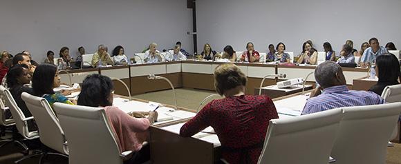 Comisión de Asuntos Contitucionales y Jurídicos. Foto: Ismael Francisco/Cubadebate.
