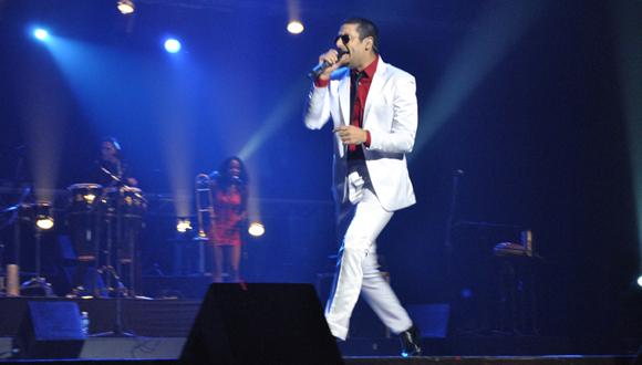 El inicio del espectáculo estuvo a cargo de Elaín  Morales. Foto: Marianela Dufflar