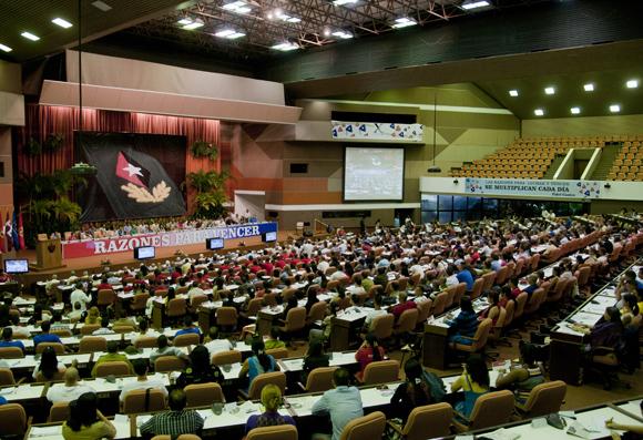 Inaugurado X Congreso de la UJC. Foto: Ladyrene Pérez/ Cubadebate.