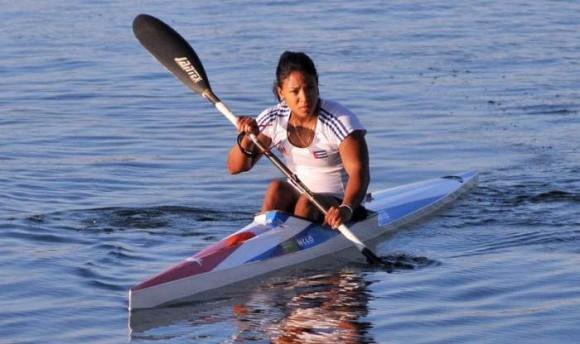 Yusmari Mengana, una de las medallistas. Foto tomada de Vanguardia